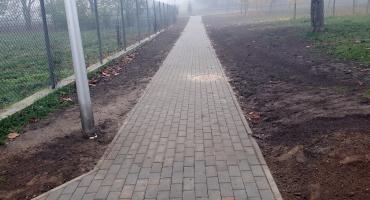 Nowy chodnik będzie służył mieszkańcom [FOTO]