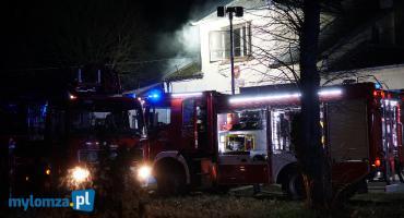 Pożar w starej szkole! Trzy osoby ewakuowane [FOTO]