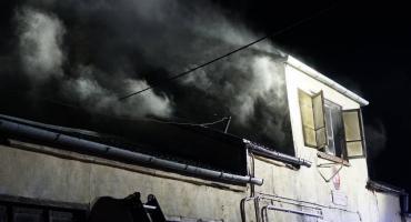 Drugi pożar w tym samym budynku! Tym razem większy