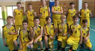 Brązowe medale młodych koszykarzy
