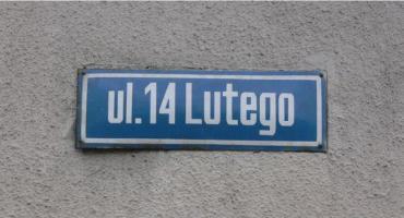 Co z nazwą ulicy 14 Lutego w Pile? Jest decyzja NSA