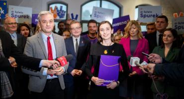 """Spurek """"jedynką"""". Pełna lista kandydatów Wiosny na eurowybory"""