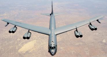 Amerykański bombowiec krążył nad Piłą i regionem