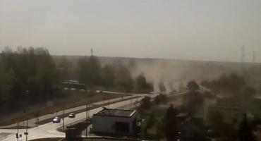 Wichura pyłowa nad Piłą [ZDJĘCIA]