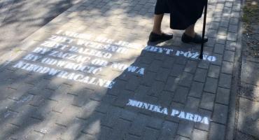 Wiersze na chodnikach i w autobusach [VIDEO][ZDJĘCIA]