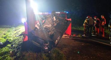 Kolejny tragiczny wypadek. Zginął 20-letni kierowca [ZDJĘCIA]
