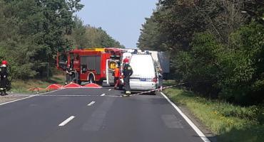 Wypadek na DK11 pod Piłą. Zginął motocyklista
