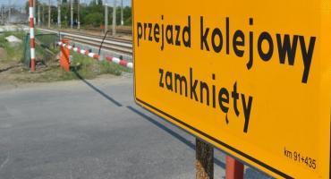 Przejazd kolejowy na ul. Młodych zamknięty. Utrudnienia w ruchu