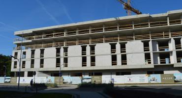 Trwa budowa Hotelu Arche Piła [ZDJĘCIA]