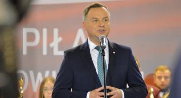 Prezydent RP w Pile. Andrzej Duda apelował o udział w wyborach [ZDJĘCIA]