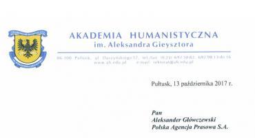Rosyjski szpieg wyrzucony z pracy w naszej Akademii
