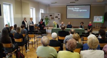 """""""Twoje dane – Twoja sprawa"""" - konferencja w ZS im. B. Prusa"""