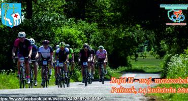 Ogólnopolski rajd rowerowy 14 kwietnia w Pułtusku