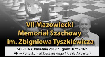 VII Mazowiecki Memoriał Szachowy im. Zbigniewa Tyszkiewicza