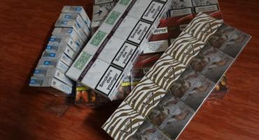 Zatrzymano handlarkę nielegalnych papierosów