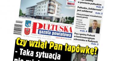 W jutrzejszym, 14 numerze Pułtuskiej Gazety Powiatowej