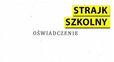 Kilkoro nauczycieli z PSP 3 zawiesza strajk na czas egzaminów