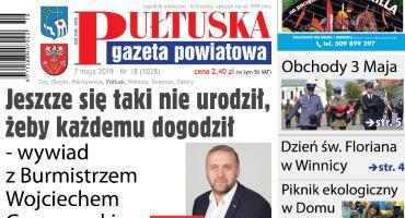 Jutro, w 18 numerze Pułtuskiej Gazety Powiatowej