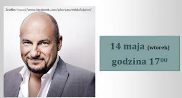 Biblioteka zaprasza na spotkanie z Piotrem Gąsowskim