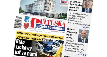 W jutrzejszym, 19 numerze Pułtuskiej Gazety Powiatowej