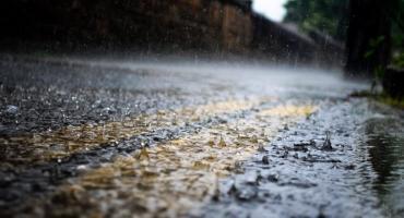 Deszcz, wiatr i burze