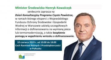 Minister Henryk Kowalczyk zaprasza na konsultacje
