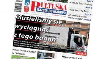 W jutrzejszym, 23 numerze Pułtuskiej Gazety Powiatowej