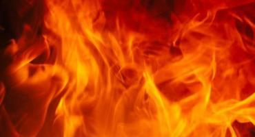 Pożar domu w Morach - jest ofiara pożaru