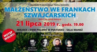 Spektakl Teatru Komedia w Domu Polonii - zaproszenie