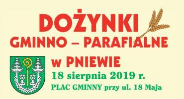Dożynki gminy Zatory w Pniewie już w niedzielę - ZAPROSZENIE
