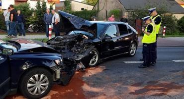 Cztery osoby poszkodowane – wypadek na Kościuszki