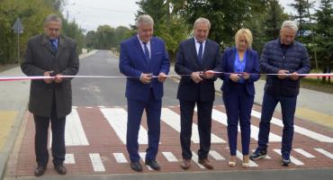 Otwarcie drogi w Płocochowie