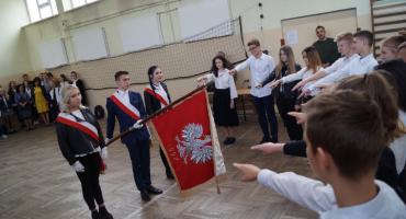 Ślubowanie pierwszoklasistów w Prusie