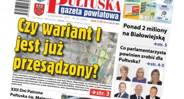 W jutrzejszym, 39 numerze Pułtuskiej Gazety Powiatowej