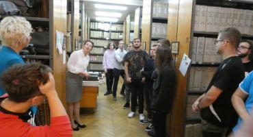 Warsztaty w Archiwum Państwowym w Pułtusku