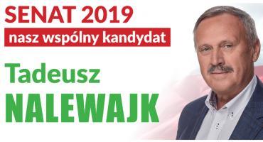 Tadeusz Nalewajk dziękuje za poparcie