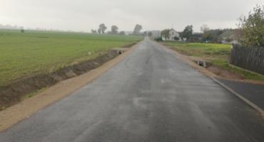Przebudowa drogi w Trzcińcu dobiegła końca