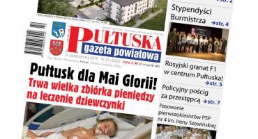 W jutrzejszym, 42 numerze Pułtuskiej Gazety Powiatowej