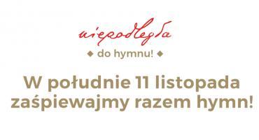 Niepodległa do Hymnu 2019 - dołącz do akcji!
