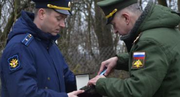 Ceremonia pobrania cząstek ziemi z miejsc pochówku żołnierzy radzieckich