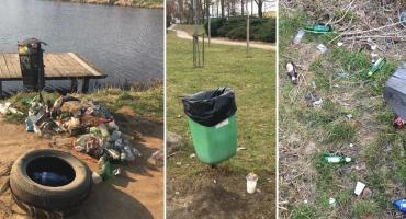 Garwolin – Zarzecze i miasto tonie w śmieciach