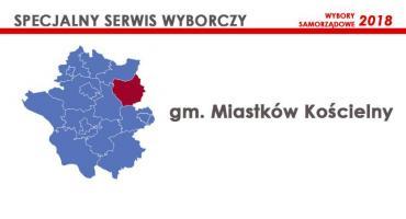 Kandydaci - Rada gminy Miastków Kościelny