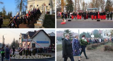 Rondo 100-lecia Niepodległości w Żelechowie