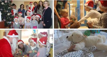 Przedszkolaki dla małych pacjentów – wyjątkowe Mikołajki w szpitalu