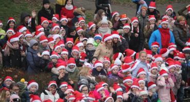 Parada świętego Mikołaja w Łaskarzewie