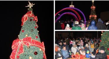 W Pilawie rozbłysła wyjątkowa iluminacja świąteczna