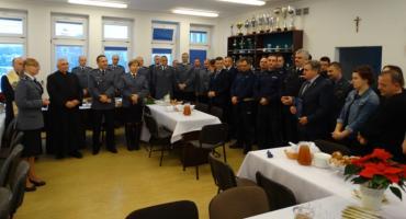 Spotkanie wigilijne w Komendzie Policji