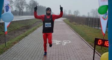 Łukasz  Świesiulski wygrał noworoczny bieg w Styrzyńcu