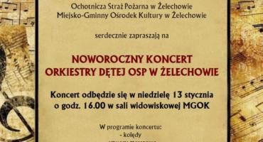 Noworoczny koncert żelechowskiej Orkiestry Dętej