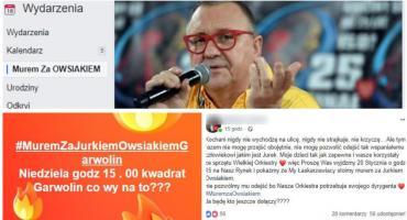 Mieszkańcy staną murem za Jurkiem Owsiakiem?